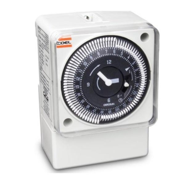 Programador Horário Eletromecânico RTM 15MIN 220V Coel