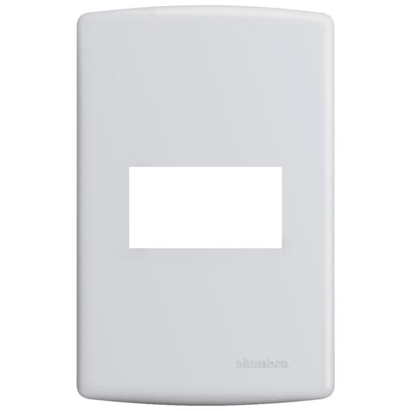 Placa 4x2 para 1 Módulo Horizontal 6400 Siena Alumbra