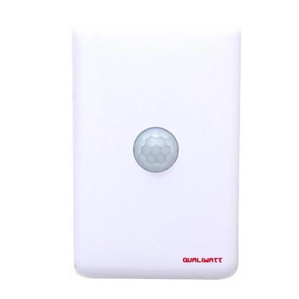 Sensor de Presença de Embutir 4X2 com Foto Célula Bivolt QW013 Qualiwatt