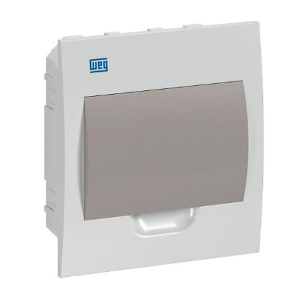 Quadro para 8 Disjuntores Embutir Fumê QDW02-8-FE Weg