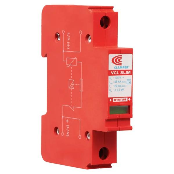 Dispositivo de Proteção Contra Surto DPS 45KA 275V VCL Slim Clamper