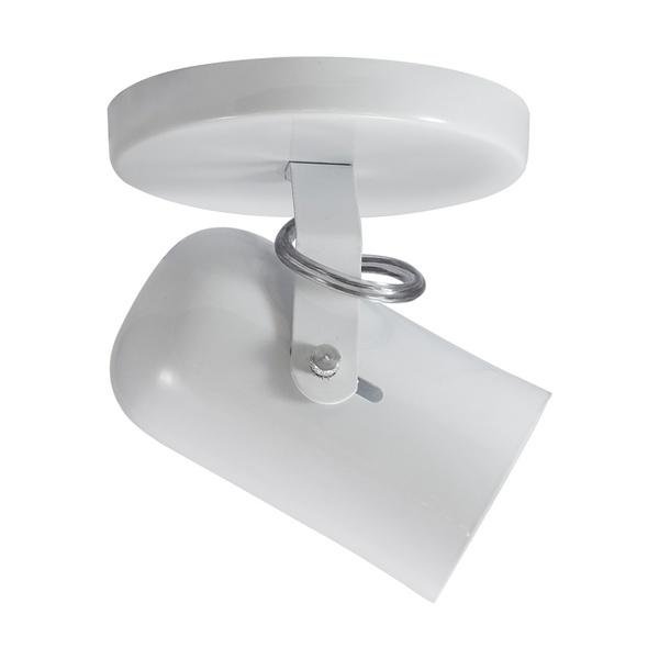 Spot para 1 Lâmpada E27 Branco Base