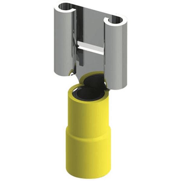 Terminal Isolado tipo Fêmea – FE 6-6 Amarelo Intelli