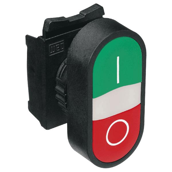 Botão Duplo Faceado 1na + 1nf Vermelho - Weg