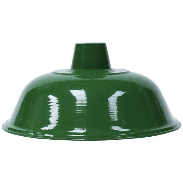 Pendente Ø36cm x 19cm Verde para 1 Lâmpada E27
