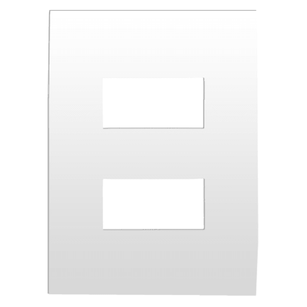 Placa 4x2 para 2 Módulos Separados 582564B Arteor Pial