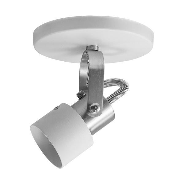 Spot para 1 Lâmpada GU10 (Dicróica) Branco Base