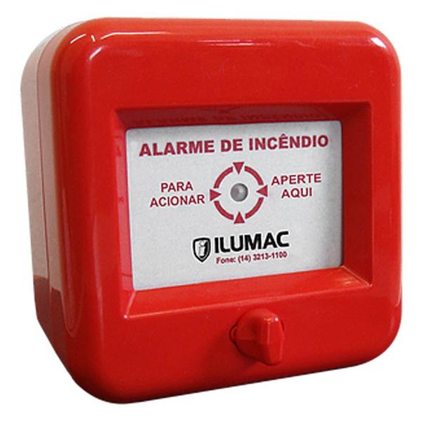 Acionador Manual de Alarme de Incêndio AMF-C Ilumac