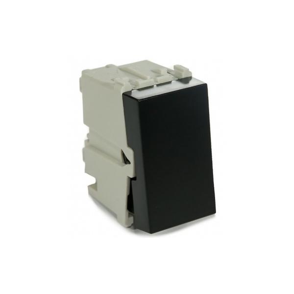 Interruptor Simples 10A 13798032 Preto Refinatto Weg