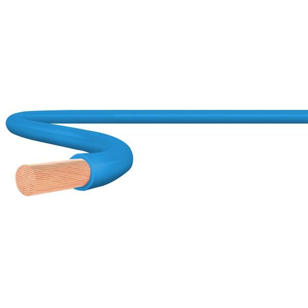 Cabo Flexível 750V 1,0mm² Azul Rolo com 100 Metros Sil