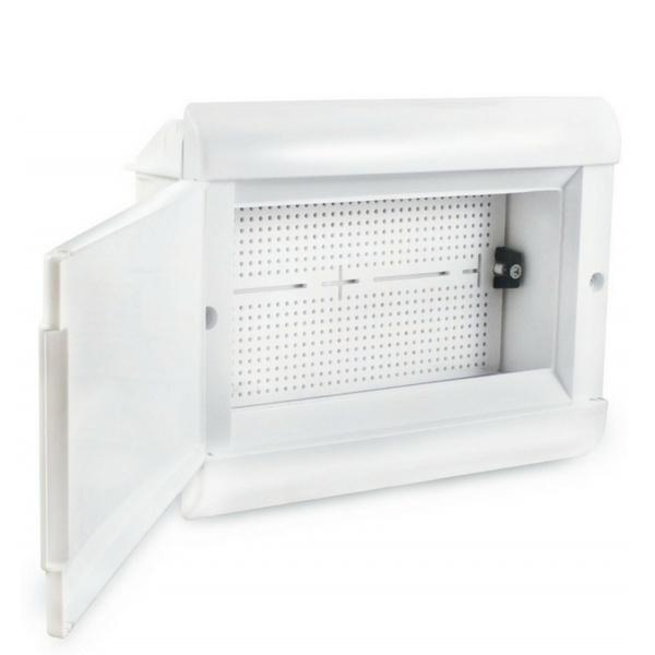 Quadro VDI de Embutir 280X370X80mm Branco SCMI300 Steck