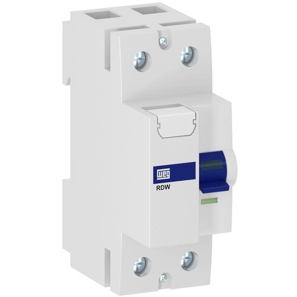 Interruptor Diferencial Residual DR Bipolar 40A 30MA RDW30-40-2 Weg