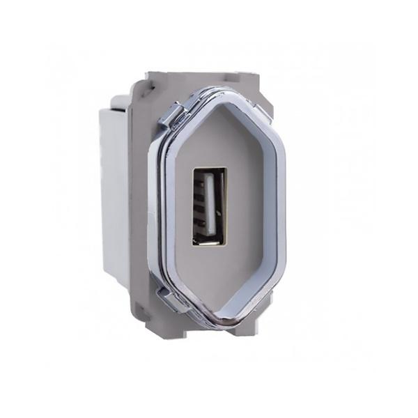 Módulo Carregador USB AC1500/148 Novara Dicompel