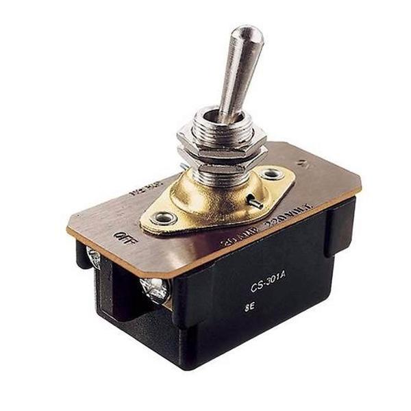 Interruptor de Alavanca Bipolar 20A - CS-301A Margirius