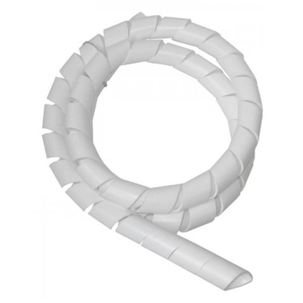 """Tubo Spiral Tube 1/4"""" Branco (Metro) Hellermann Tyton"""