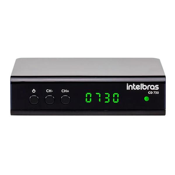 Conversor Digital de TV com Gravador CD730 Intelbras