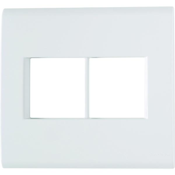 Placa 4x4 com Suporte para 4 Módulos 57106/026 Tramontina