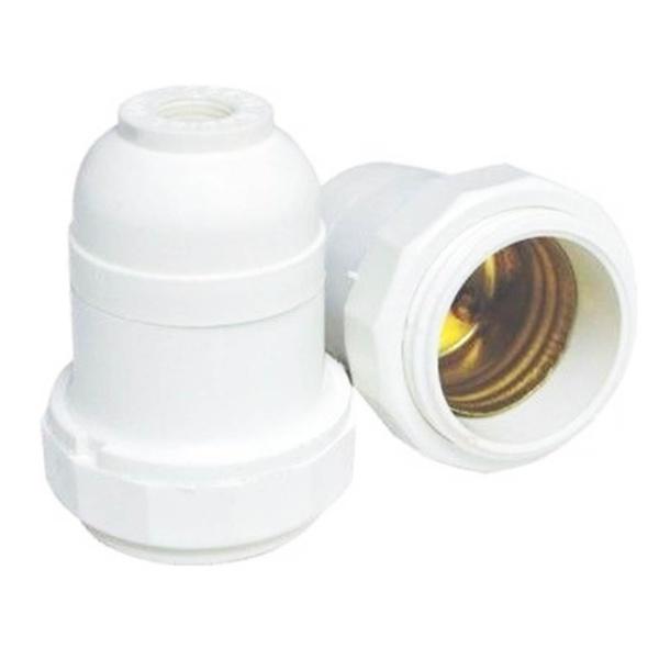 Porta Lâmpada Branco E-27 – 1559N Germer