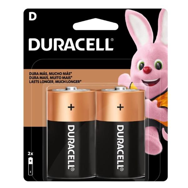 Pilha D Alcalina PCT=2 Duracell