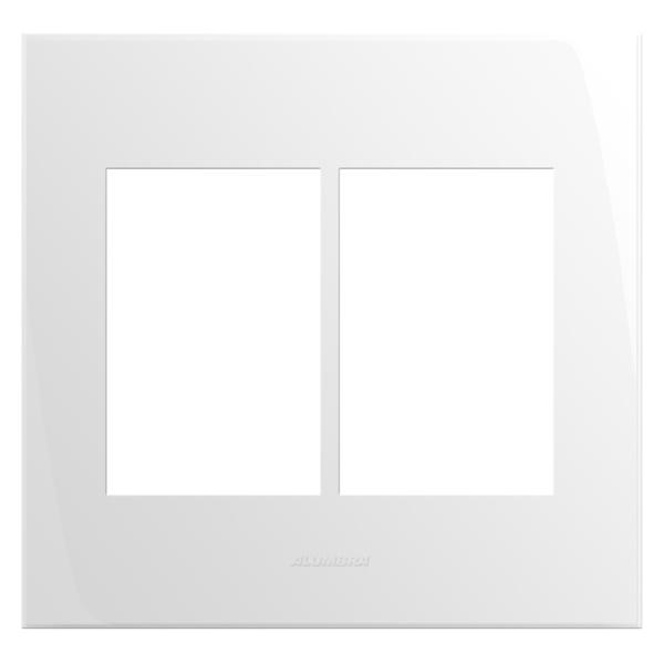 Placa 4x4 com Suporte para 6 Módulos 85006 Inova Pró Alumbra