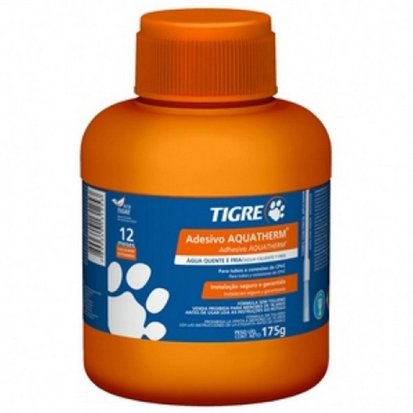 Adesivo Aquatherm 175g Com Pincel Tigre