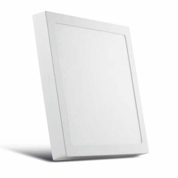 Painel / Plafon de LED Sobrepor 17x17cm Quadrado 12W Branco Neutro
