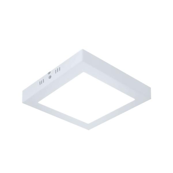 Painel / Plafon de LED Sobrepor 30x30cm Quadrado 24W Branco Quente