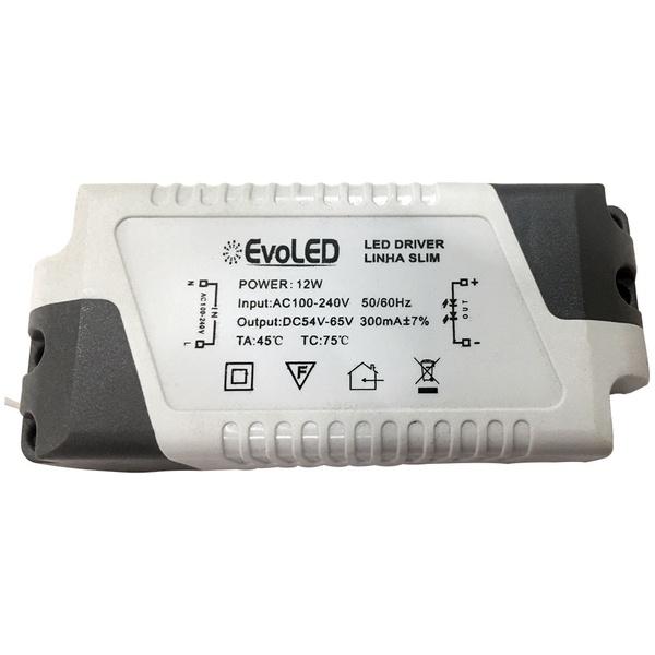 Driver para Plafon de LED 12W Bivolt Evoled