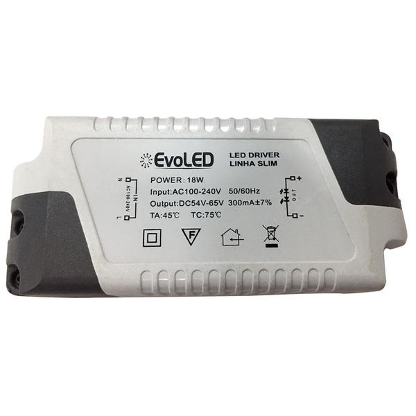 Driver para Plafon de LED 18W Bivolt Evoled