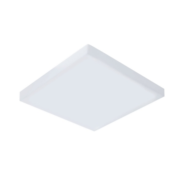 Painel / Plafon de LED Sobrepor Mini Borda 22x22cm Quadrado 24W Branco Frio