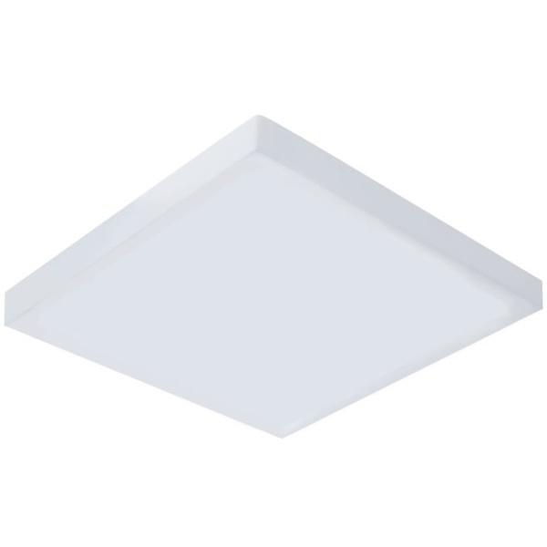 Painel / Plafon de LED Sobrepor Mini Borda 15x15cm Quadrado 15W Branco Quente