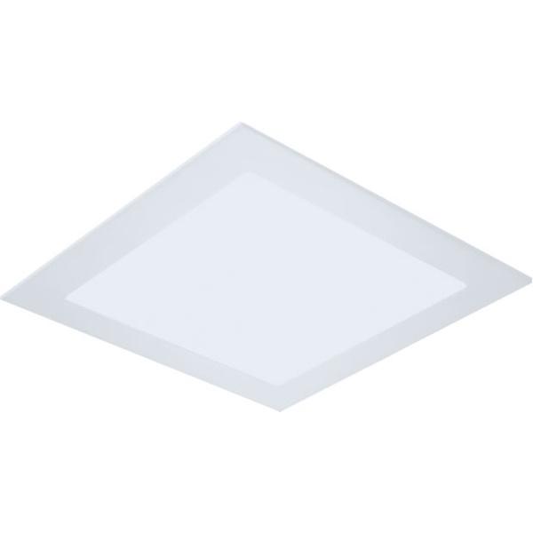 Painel / Plafon de LED Embutir 62x62cm Quadrado 48W Branco Quente