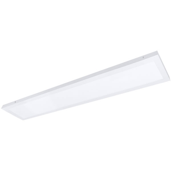 Painel / Plafon de Led Slim Retangular de Sobrepor 48W Bivolt 122x15cm Branco Evoled