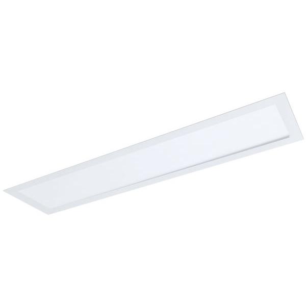 Painel / Plafon de Led Slim Retangular de Embutir 48W Bivolt 122 x 15cm Branco Evoled