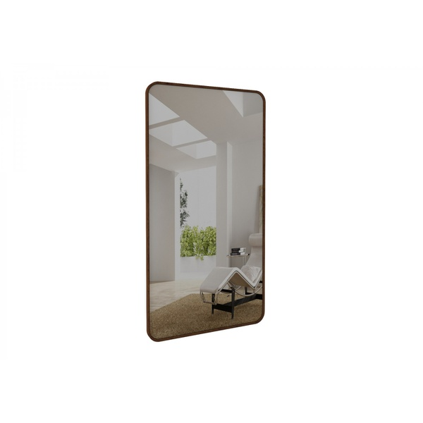 Espelho Pallazzo Retangular 2,10cm Natural Rudnick