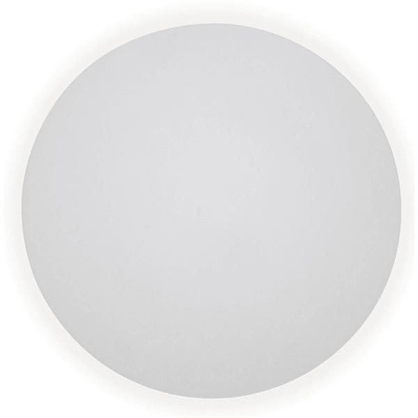 Arandela Pleine Grande em Alumínio Redonda Ø40cm Para 2 Lâmpadas E27 Branca New Line