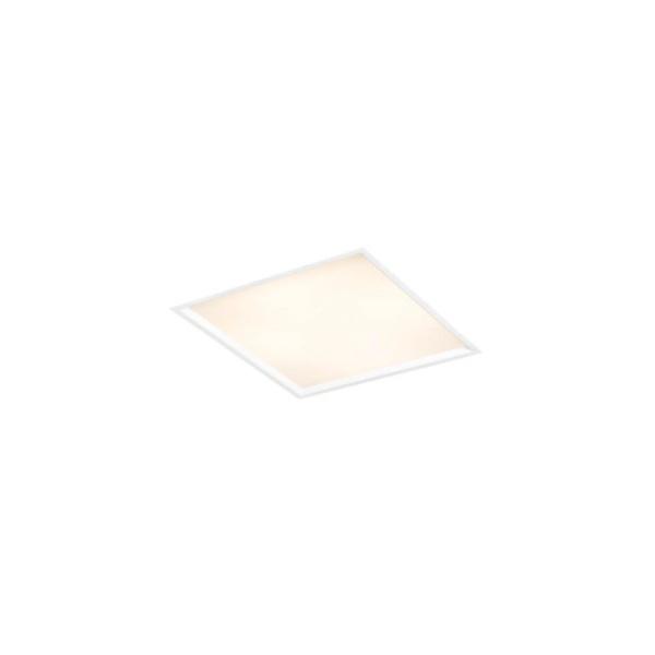 Plafon de Embutir Slim II 20x20cm 2E27 50W Branco Bivolt Newline