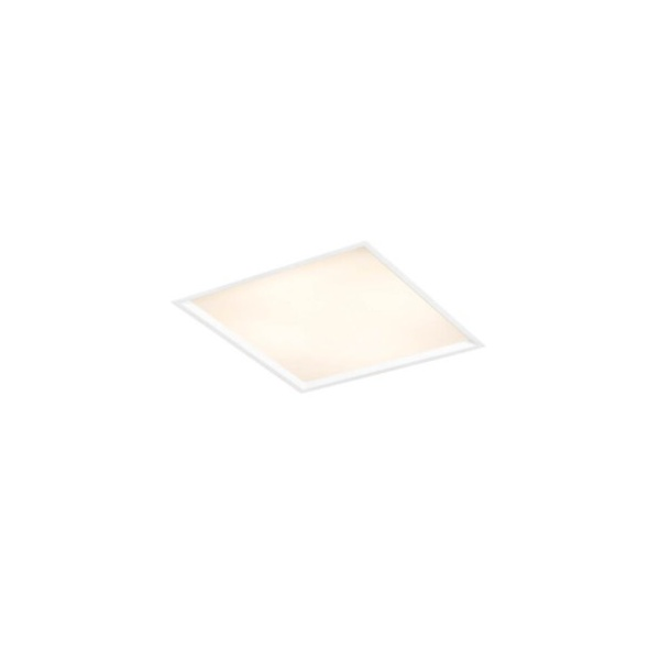 Plafon de Embutir Slim II 38x38cm 4E27 100W Branco Bivolt Newline