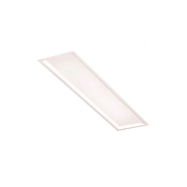 Plafon de Embutir Slim II 69,8x26,5cm 4xT8 72W Branco Bivolt Newline
