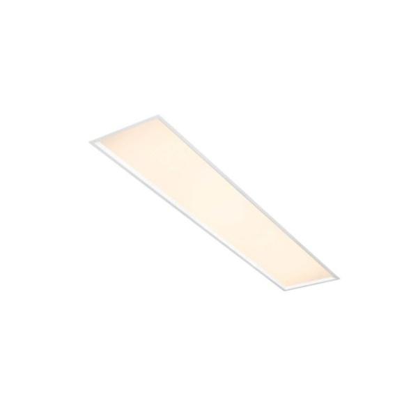 Plafon de Embutir Slim II 131x19,5cm 2XT8 72W Branco Bivolt Newline