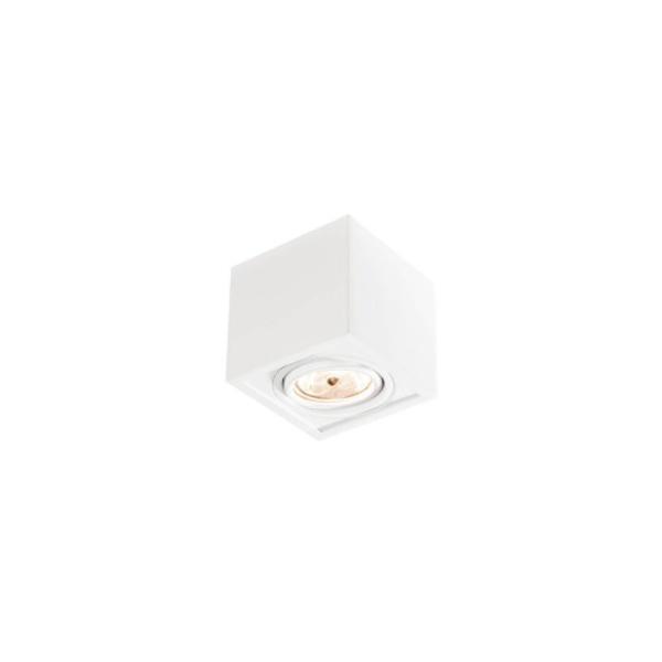 Plafon Box Sobrepor 11,7x11,6cm 1PAR20 Branco Bivolt Newline