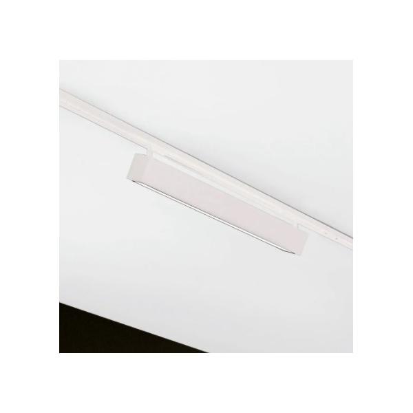 Plafon Sobrepor para Trilho 7,5x60cm 16W 3000K Branco Bivolt Newline