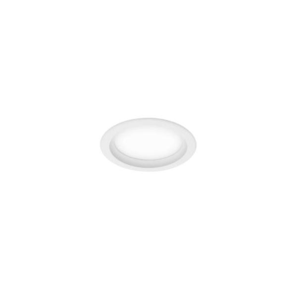Plafon de Embutir Perfil 18,5x11,5cm 1E27 20W Branco Bivolt Newline