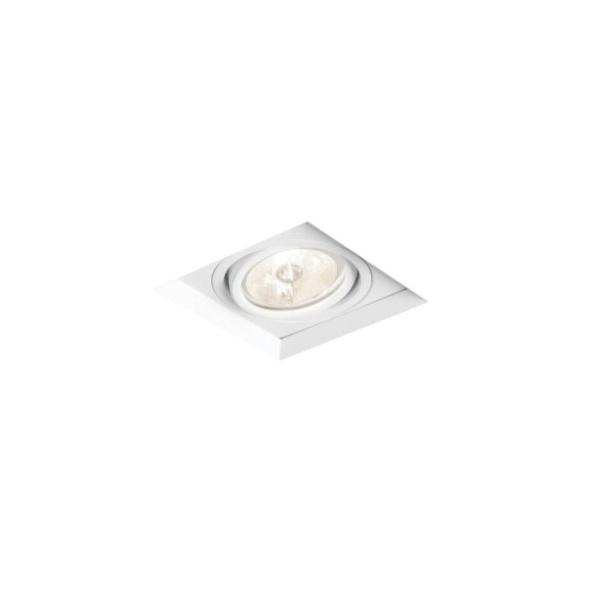 Embutido de Teto No Frame Para Lâmpada PAR20 Branco Bivolt Newline