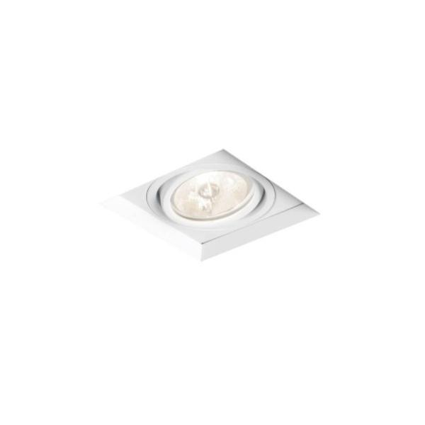Embutido de Teto No Frame II Para Lâmpada AR70 Branco Bivolt Newline