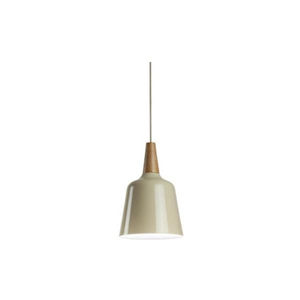 Pendente Wood Para Lâmpada E27 Branco Bivolt Newline
