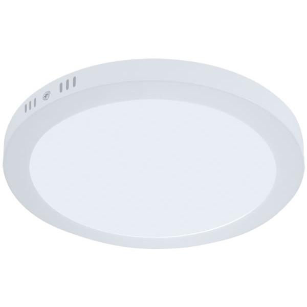 Plafon de LED Sobrepor 30cm Redondo 24W Branco Quente
