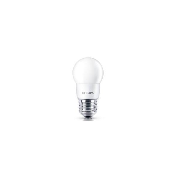 Lâmpada LED Bulbo Bolinha 4W Bivolt Branco Quente Philips
