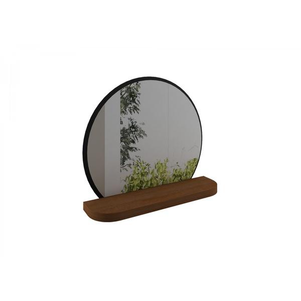 Espelho Aparador Mênfis Amendôa com Preto Rudnick