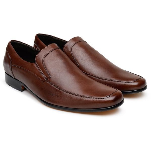 Tamanho Especial Sapato Scatamacchia Chocolate 452
